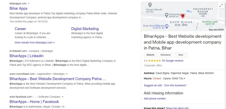Google Sidebar Search