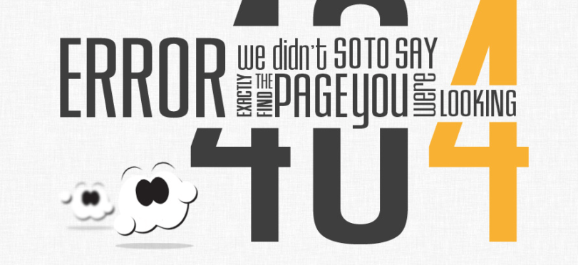 How do we approach a 404 error not found from an SEO point of view?